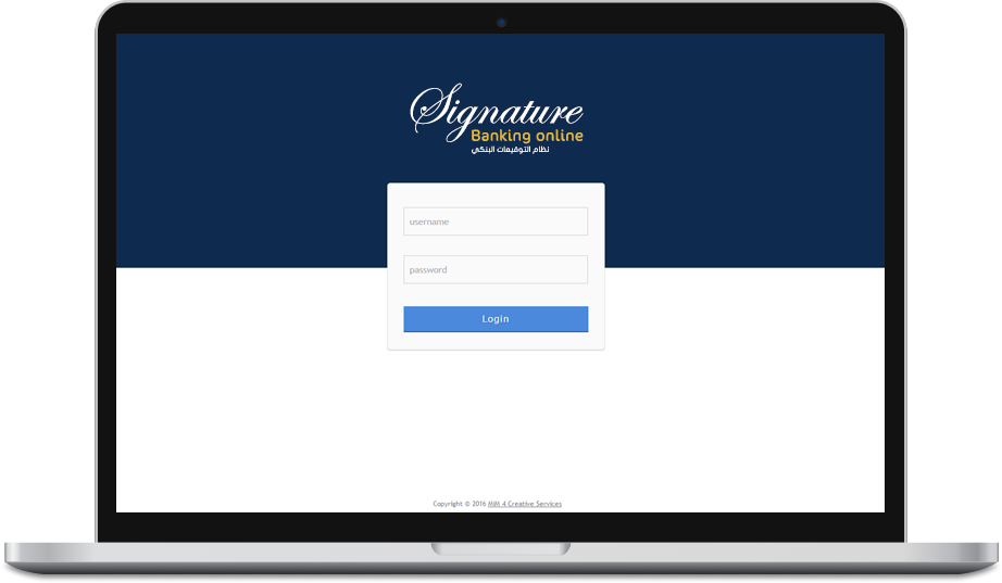 Signatuer-Banking-online